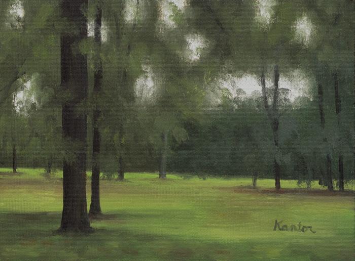 "Clove Lakes Park II, 5x7"""